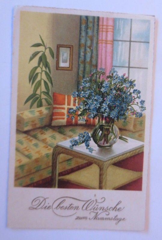 Blumen Für Die Wohnung namenstag, wohnung, tisch, vase, blumen, 1937 ♥ (67928) nr. 67928