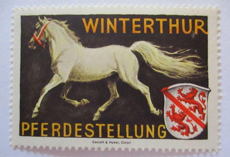 Schweiz, Militär Soldatenmarke Pferdestellung Winterthur postfrisch (26349)