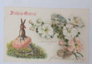 Ostern, Osterhase, Osterei, Blumen,    1900 ♥ (55940)