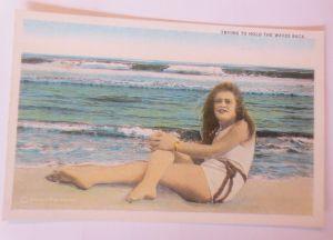 Bademoden, Frauen, Meer, 1930  ♥ (68488)
