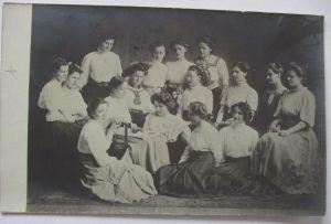 Glückwunschkärtchen, Klappkarte zur Verlobung, Jugendstil,  1900 ♥ (35860)