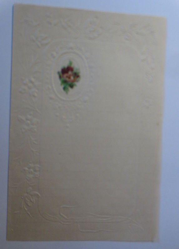 Briefpapier Mit Oblate aus dem Jahr 1888, Ungebraucht ♥ (12K)