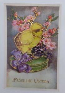 Ostern, Küken, Blumen,   1930 ♥ (4910)