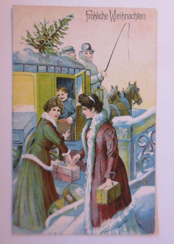 Geschenke Weihnachten Frau.Weihnachten Frauen Mode Kutsche Geschenke 1910 67336