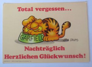 Comic Garfield, Jim Daivs        1978  ♥  (66665)