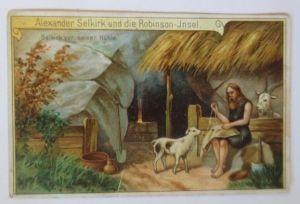 Kaufmannsbilder, Dr. Thompson´s Seifenpulver, Robinson Insel, 1900 ♥ (69659)
