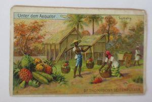 Kaufmannsbilder, Dr. Thompson´s Seifenpulver, Unter dem Aeqautor, 1900 ♥ (69657)