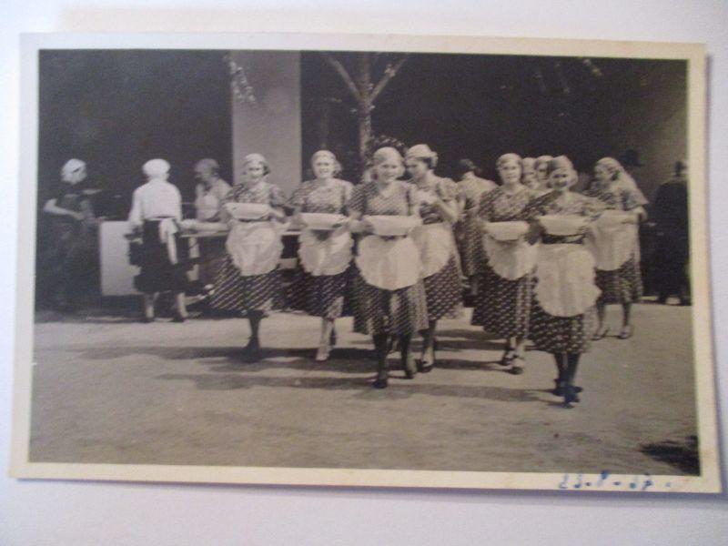 Berufe, Frauen, Köchinnen, Hauswirtschaft, Fotokarte ca. 1930  (36550)