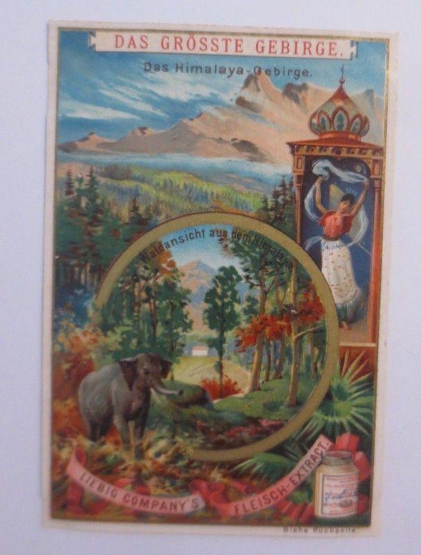 Liebig, Serie Das Größte Gebirge, Das Himalaya Gebirge  ♥ (39205)