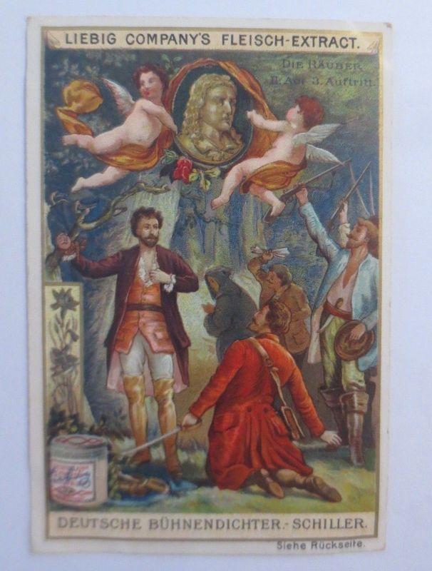 Liebig, Serie 357, Deutsche Bühnendichter, Schiller, Die Räuber III. Act♥(37272)