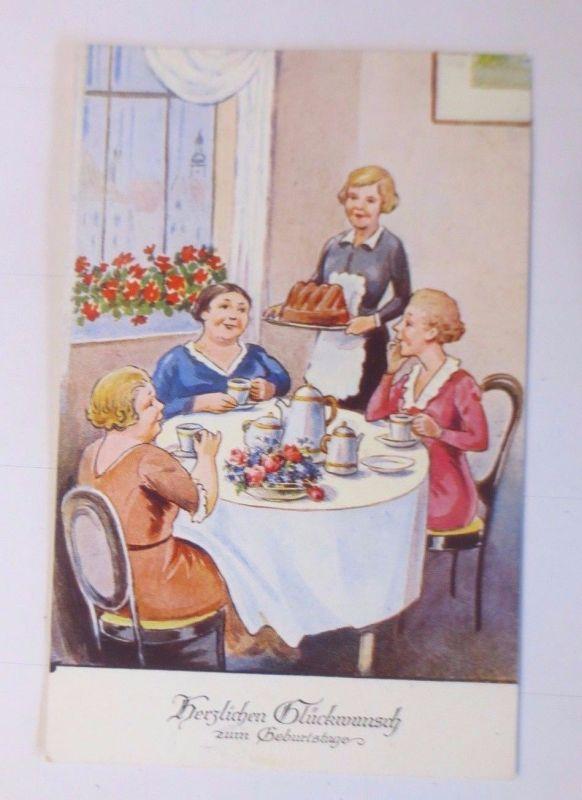 Geburtstag Frauen Kaffee Kuchen 1940 58900 Nr 58900