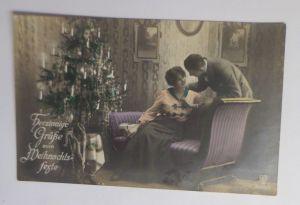 Weihnachten, Frauen, Männer, Mode, Weihnachtsbaum, Bescherung,  1920  ♥ (68740)