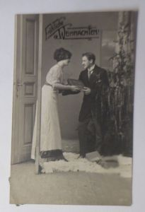 Weihnachten, Frauen, Männer, Mode, Buch,   1913  ♥ (66613)