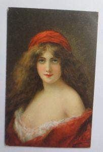 Künstlerkarte, Frauen, Mode, Erotik, A. Asti,  1905, Theo Stroefer   ♥ (50695)