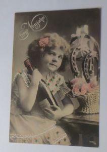 Neujahr, Kinder, Mode, Sekt, Hufeisen,    1912  ♥  (14384)