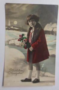 Neujahr, Kinder, Mode, Blumen,   1929  ♥  (3095)
