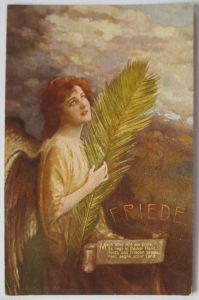 Geburtstag, Blumen, Maiglöckchen,  1908,  Prägekarte ♥  (23200)