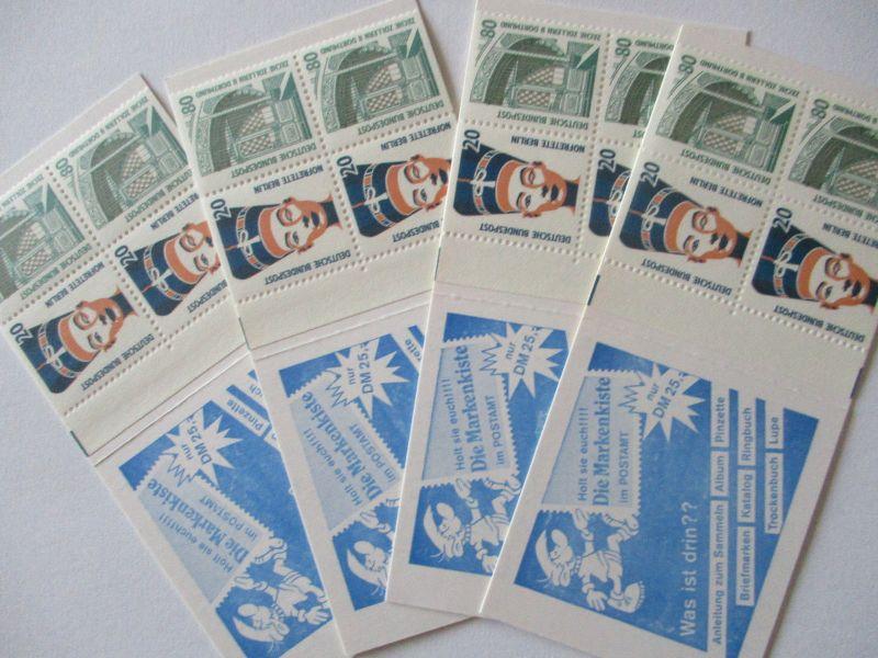 Bund, Markenheftchen 28 viermal postfrisch (19849)