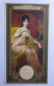 Kaufmannsbilder, Biscuits Pernot,    Madame Recamier   1900 ♥ (60839)