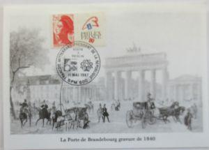 Frankreich, Maximumkarte Philexfrance 1989 (31109)