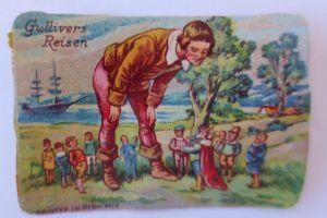 Oblaten, Märchen, Gullivers Reisen,     6 cm x 4 cm ♥ (35198)