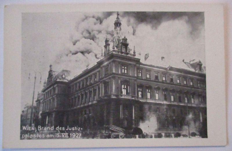 Österreich, Wien, Brand des Justizpalast 1927 (22997)