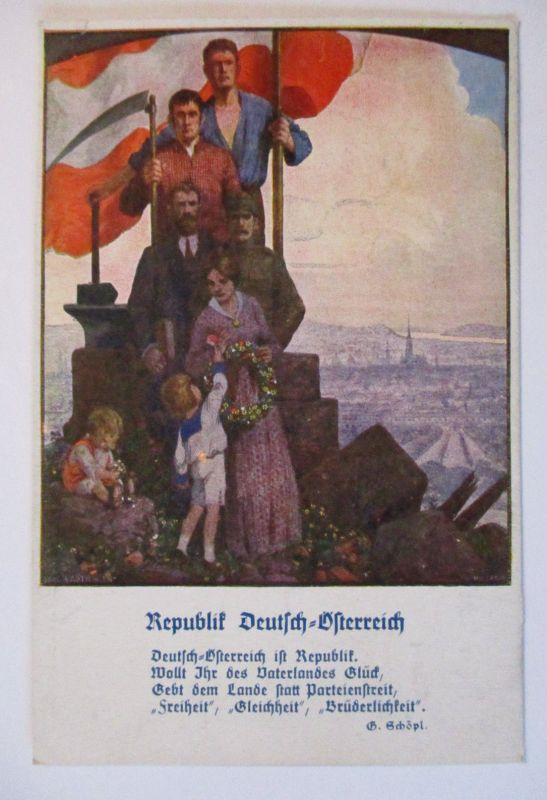 Republik Deutsch Österreich, Freiheit Gleichheit Brüderlichkeit (19721)