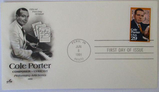 Musik, Komponist Cole Porter, FDC USA 1991 (18414)