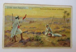 Kaufmannsbilder, Dr. Thompson´s Seifenpulver, Unter dem Aeqautor, 1900 ♥ (69658)