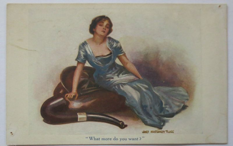 James Montgomery Flagg, What more do you want, Henderson-London (23646)