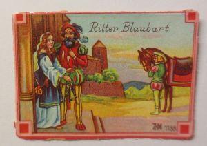Oblaten, Märchen, Ritter Blaubart,   6 cm x 4 cm ♥ (14971)