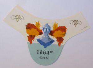 Weinetikett, 1964 ♥ (40181)
