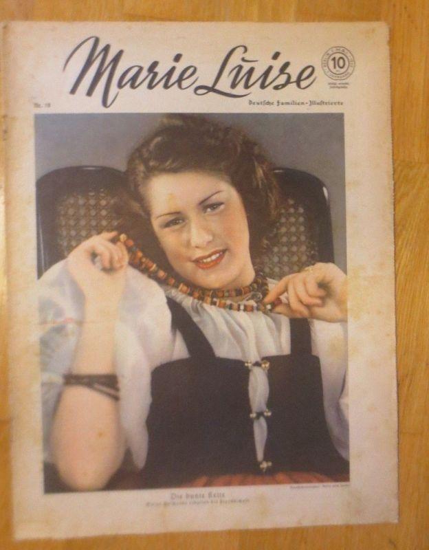Marie Luise, Deutsche Familien- Illustrierte 1939, Nr.19 ♥
