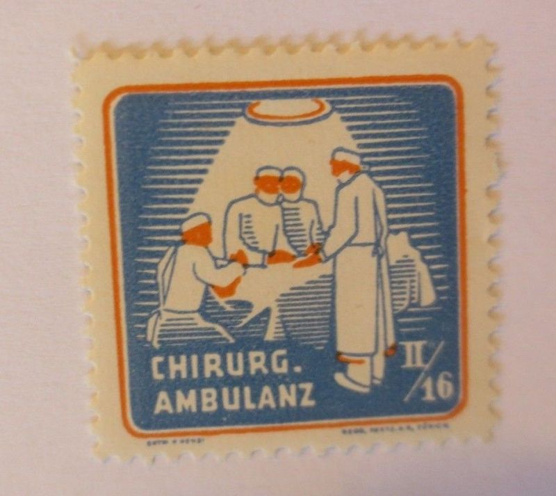 Schweiz, Militär Soldatenmarke Chirurg. Ambulanz 2/16 ♥  (32747)