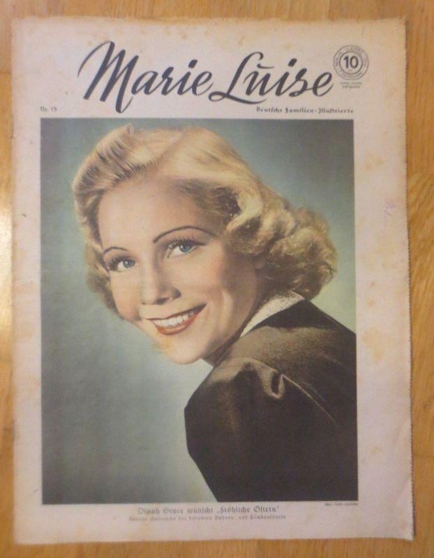 Marie Luise, Deutsche Familien- Illustrierte 1939, Nr.15 ♥