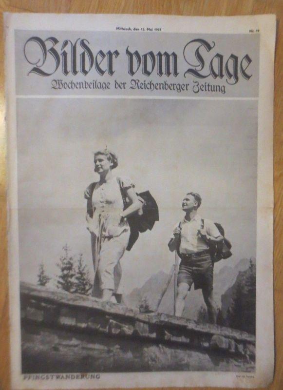 Bilder vom Tage, Wochenbeilage der Reichenberger Zeitung 1937, Nr.19 ♥
