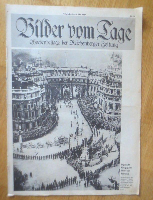 Bilder vom Tage, Wochenbeilage der Reichenberger Zeitung 1937, Nr.20 ♥