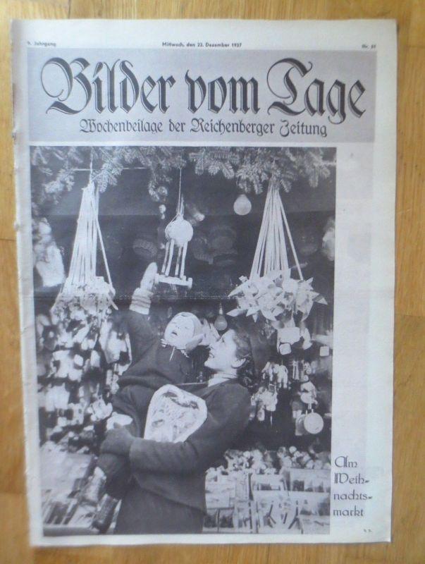 Bilder vom Tage, Wochenbeilage der Reichenberger Zeitung 1937, Nr.51 ♥