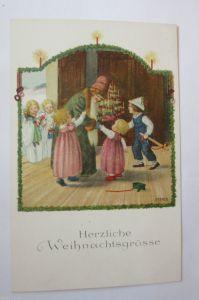 Weihnachten, Weihnachtsmann, Kinder, Spielzeug, 1927 ♥ (26643)
