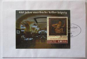 Kunststoff  Karte, Handgemalt, Neujahr, Blumen, 1910 ♥ (66038)