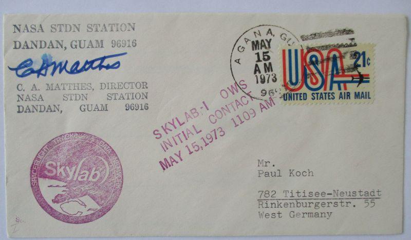 Raumfahrt, Weltraum, Skylab 1, NASA Station Guam 1973 (9217)