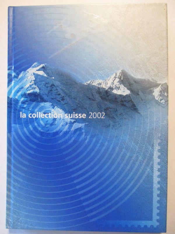 Briefmarken-Jahrbuch der Schweiz (PTT) 2002, gestempelt