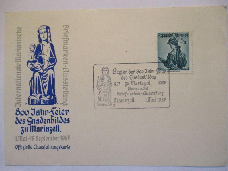 Österreich, 800 Jahre Gnadenbild Maria Zell 1957 (43738)
