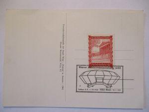 Österreich, Wiener Jubiläumsausstellung 1968, Sonderkarte (46093)