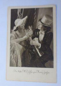 Neujahr, Frauen, Mode, Sekt,   1940 ♥  (35206)