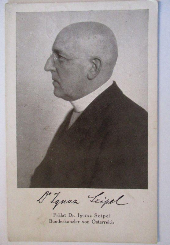 Österreich Politik, Bundeskanzler Dr. Ignaz Seipel (42472)