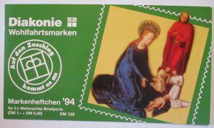 Bundesrepublik Markenheftchen Diakonie 1994 postfrisch (26864)