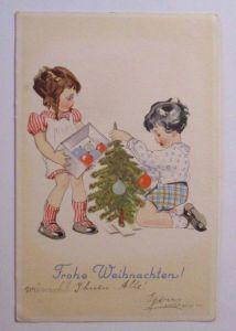 Ostern, Kinder, Hase, Ostereier, 1970 ♥ (36619)
