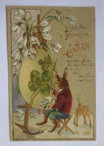 Rußland Bauern Blumen-Jugendstil, 1901 mit 4 Werte nach Bonn (50408)