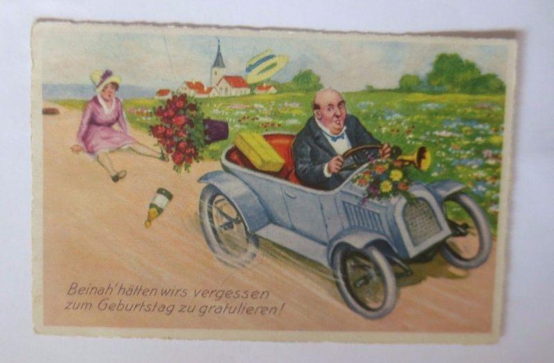 Geburtstag Manner Blumen Auto 1928 22497 Nr 22497